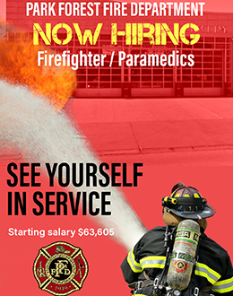 See Yourself In Service at the Park Forest Fire Department