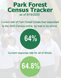 Park Forest Census Tracker 5-19-20
