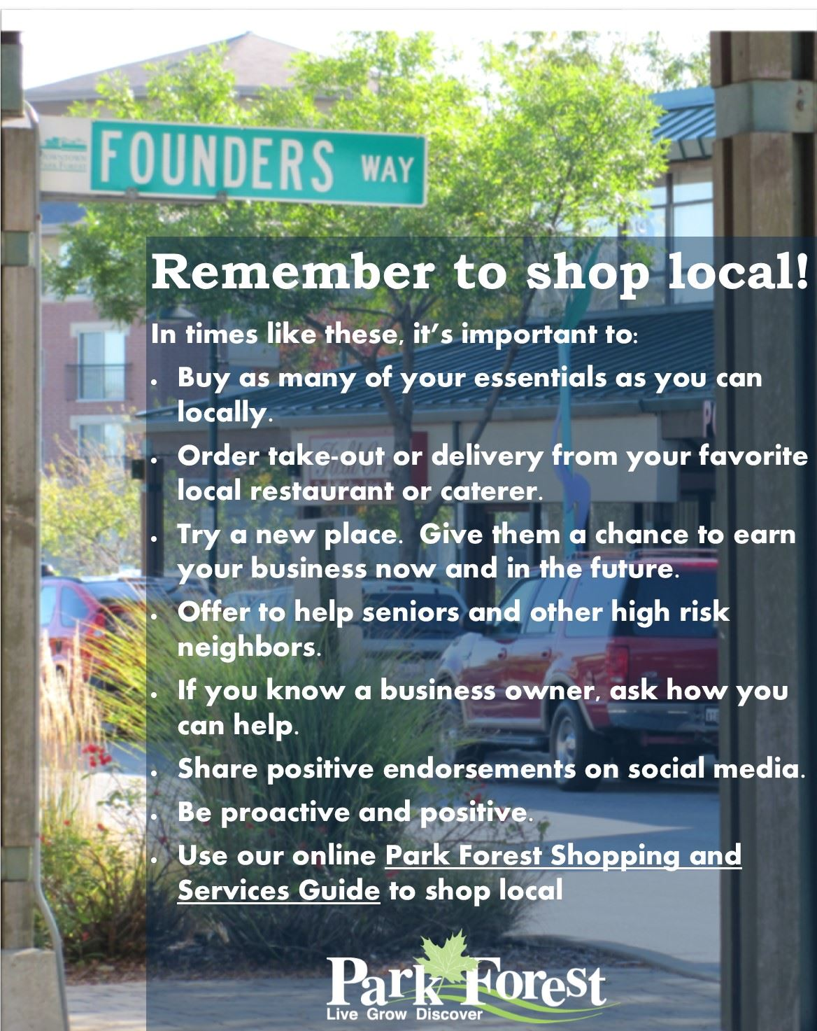 Ways to Support Local Business