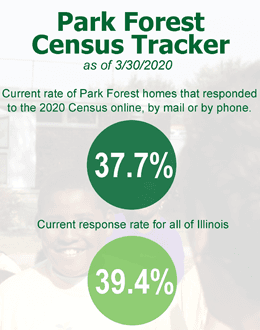 Park Forest celebrates Census Day